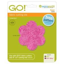 AccuQuilt GO! Fabric Cutting Die Flower 55446 Applique Quilting