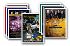 MARILLION - 10 promotional posters  collectable postcard set # 1