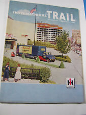 1959 INTERNATIONAL TRAIL MAGAZINE IH TRUCK  VINTAGE FACTORY ORIGINAL.