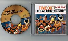 DAVE BRUBECK Time Out JAPAN 24k GOLD CD w/8-page P/S Booklet SRCS6680 PS Stains