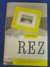 IAN FRAZIER signed autographed first edition On the Rez