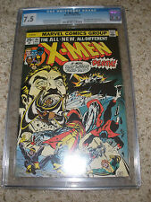 X-Men #94 CGC 7.5 First New Team Marvel Comics 1975 Off White / White pages