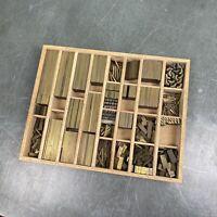 6p fette Messinglinien - Messing Linien Bleisatz Buchdruck Handsatz Letterpress