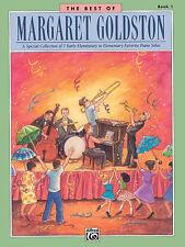Best of Margaret Goldston Bk 1 (piano); Goldston, Margaret, Piano Solo - 17396