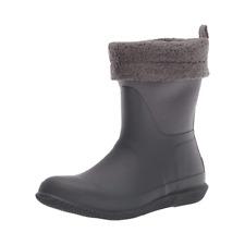 Hunter Women's Original Stratus/Luna Roll Top Warm Sherpa Lining Snow Boots US 9