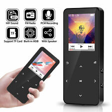 8/16GB Bluetooth Touch Screen OLED MP3 Player FM Sport Lossless Sound HIFI Music