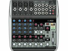 Behringer XENYX Q1202usb Premium 12 input 2 BUS Mixer con USB / Audio Interface