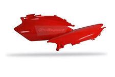 jeu de caches latéraux rouge  POLISPORT    HONDA  CRF 250 / 450   2011-2012