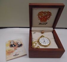 Tissot Pocket Watch Gold Plated
