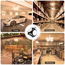LED Garage Shop Work Lights 60W 20000lm E27 Home Ceiling Fixture Deformable Lamp