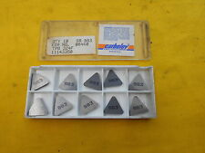10 CARBOLOY SECO USA TPG 322 F INDEXABLE CARBIDE INSERTS lathe mill tool bits