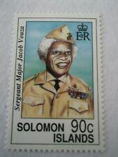 1992 Solomon Islands Birth Centenary of Sg.Majer Jacob Vauza 2 of 4 Mi.781/2. B6