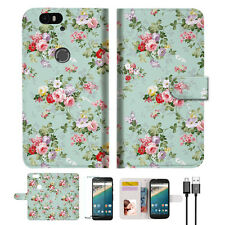 Royal Garden With Paisley Wallet Case Cover for Google Pixel A023