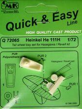 CMK 1/72 Heinkel He111H Tail Wheel Bay for Hasegawa # Q72065