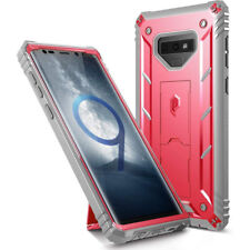 Case For Samsung Galaxy Note 9 Poetic【Revolution】Built-in-Screen Protector Pink