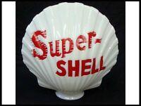 REPRODUCTION SUPER SHELL GAS PUMP GLOBE *Gas & Oil*