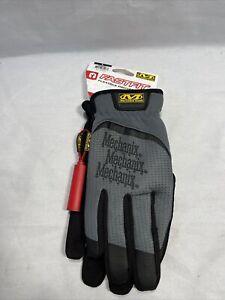 Mechanix Wear FastFit Work Gloves  Large Black / Grey - New with Tags U3