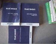 2007 Hyundai Tucson Service Repair Shop Manual SET FACTORY W Wiring Diagram
