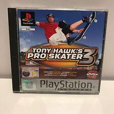 PS1 Playstation1 Tony Hawk's pro skater 3 platinum complete