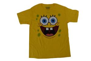 Spongebob Squarepants Youth Boys Big Face Shirt New XS, S, M