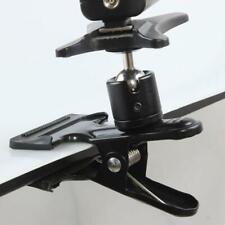 Universal Flash Light Holder Clamp Ball Head Tripod Backdrop Clip Photograph Kit