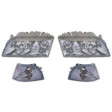 Halogen Headlight Set Volvo S40 I Vs 07.95-12.03 With