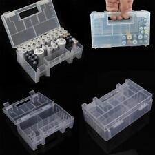 1STÜCK Translucent Hartplastik Fall Aufbewahrungsbox Halter für AA AAA batterie#