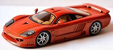 Saleen S7 twin turbo 2000-08 orange metallic 1:43