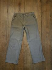 ARMANI COLLEZIONI Flat Front Trousers Size 34 /50 Zip Fly. Straight let. Stretch