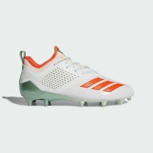 Adidas Adizero 5-Star 7.0 Long Island Mens Football Cleats White AC8243 Size 12