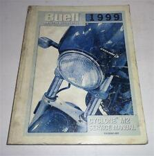 Officina Manuale/Workshop Manual Harley davidson BUELL m2 Cyclone My 99