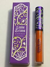 NEW LIME CRIME UNILINER LIQUID EYELINER 6TH ELEMENT COSMETICS MAKEUP EYE ORANGE