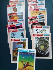 "Carte Football Onze Mondial ""les coupes du monde"""