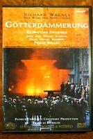 Wagner - Gotterdammerung, Boulez, Chereau, Festspiele  - DVD, As New
