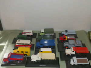 Bastlermodelle DDR LKW Sammlung Atlas Collection 1:43 Auswahl IFA Framo Robur ..