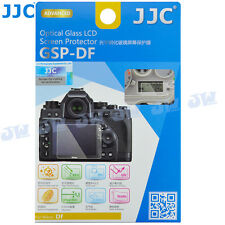 JJC No Bubble HD Optical Tempered Glass LCD Screen Protector for Nikon Df Camera
