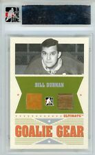 Bill Durnan Ultimate Memorabilia 6th Ed Goalie Gear Glove Stick 7/25