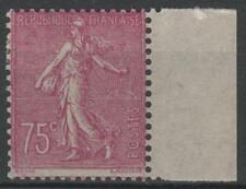 "FRANCE STAMP TIMBRE 202a "" SEMEUSE 75c LILAS-ROSE TYPE II "" NEUF x TTB RARE M409"