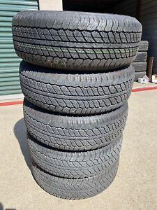 P 265/70R17 Dunlop Grandtrek AT20 113S NEW TAKE OFFS 600 Miles