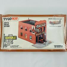 Vintage HO Scale Building Structure TYCO Joe's Fruit Store - Unopened New in Box