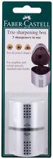 Faber Castell Trio Grip Sharpening Box Pencil Sharpener Graphite, Color & Jumbo