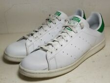 ADIDAS Men's Originals Stan Smith White-White-Green sz 13