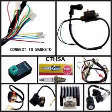 WIRING HARNESS CDI COIL KILL KEY SWITCH 50cc 110cc 125cc ATV QUAD BIKE BUGGY TDR