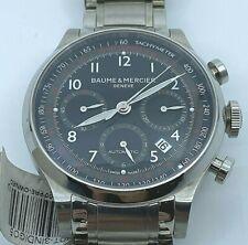 Baume et Mercier Capeland Chronograph Black Dial Men's Watch MOA10062