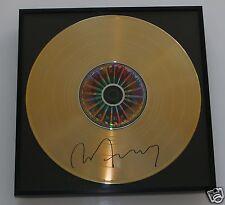 Bryan Ferry  CD + Deko goldene Schallplatte + Autogramm / Autograph in Person