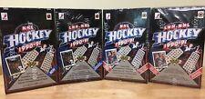 1990/91 UPPER DECK HOCKEY: FOUR BOX LOT