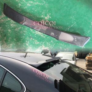 Carbon Fiber V type roof spoiler for LEXUS 2005-2012 IS250 IS350 Sedan◎
