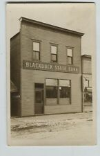 1923 Blackduck State Bank Minnesota Beltrami County Real Photo Postcard  RPPC