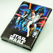 Star Wars A New Hope Leather Flip Stand Case Smart Cover For ipad mini 1/2/3