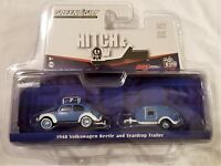 Greenlight - 1:64 Hitch & Tow 1948 VW Beetle and Teardrop Trailer (BBGL51035B)